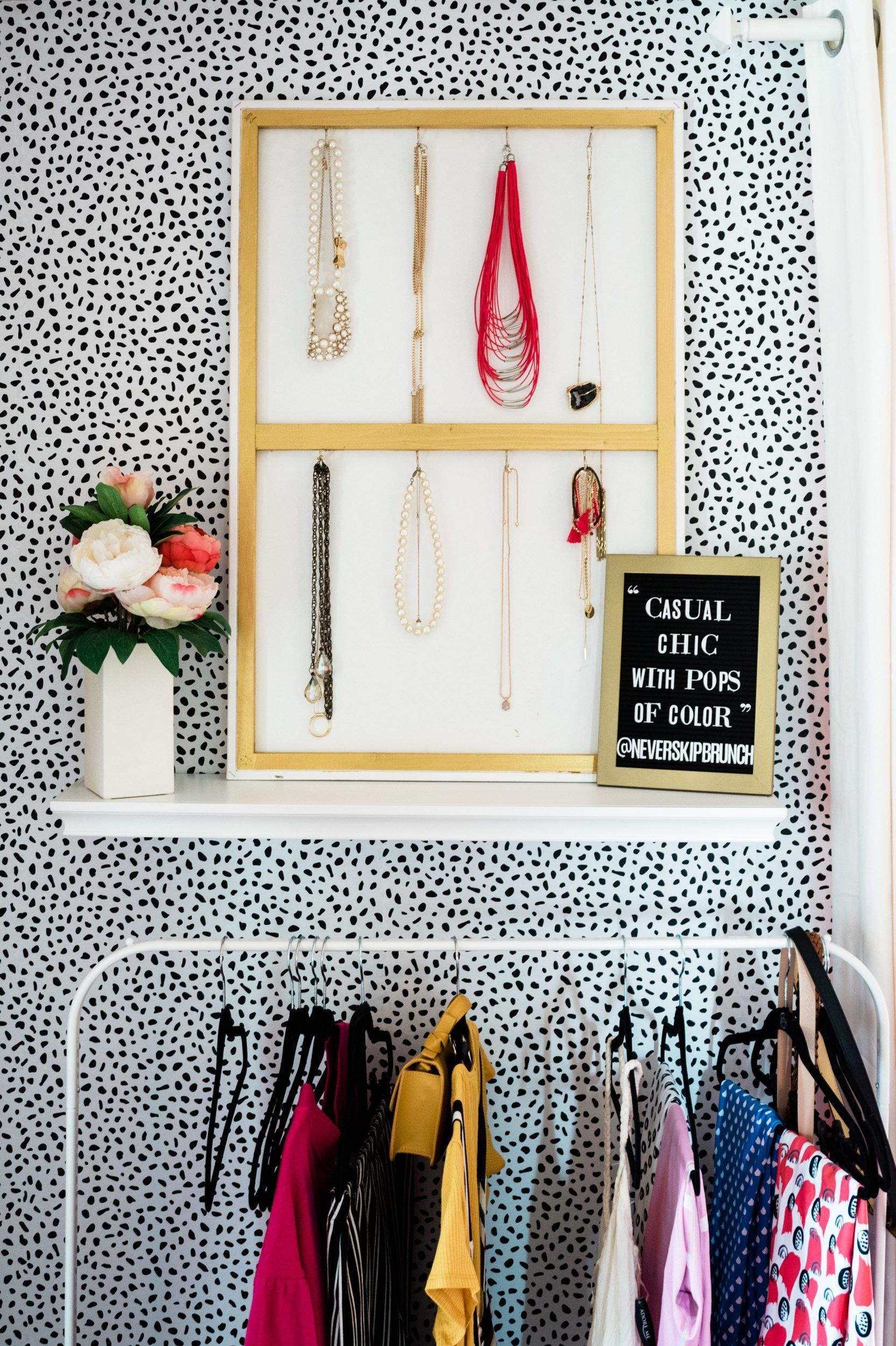 Super Easy Diy Jewelry Holder That Doubles As Decor Home Decor