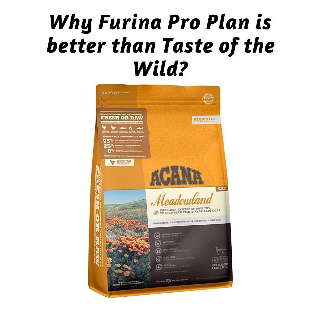 Pin on purina pro plan vs taste of the wild