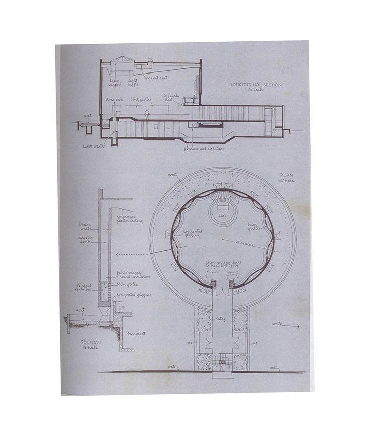 Mit Chapel Eero Saarinen Plan And Section Eero Saarinen Saarinen Sacred Architecture