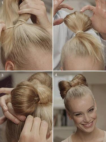 Faire un chignon Noeud !! facile | Tuto coiffure, Coiffure, Chignon noeud