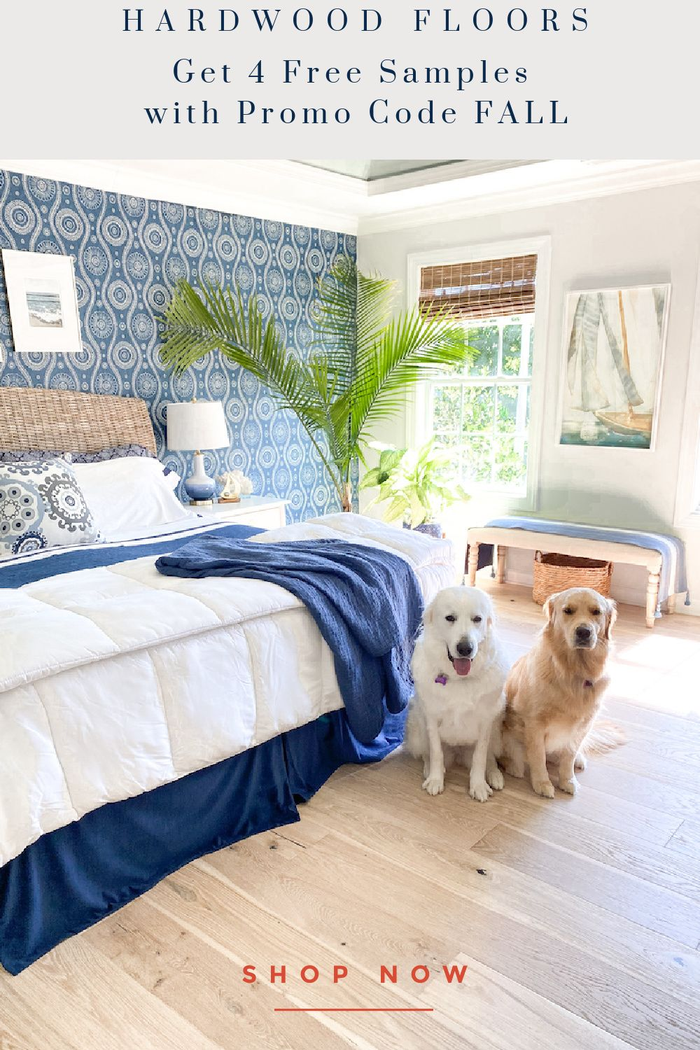 Bedroom Decor Hardwood Flooring  Bedroom flooring, Coastal master