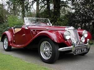 my dream car 1954 mg tf 1250 cars pinterest voiture voitures anciennes et voiture de sport. Black Bedroom Furniture Sets. Home Design Ideas