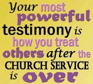 What's your testimony like?
