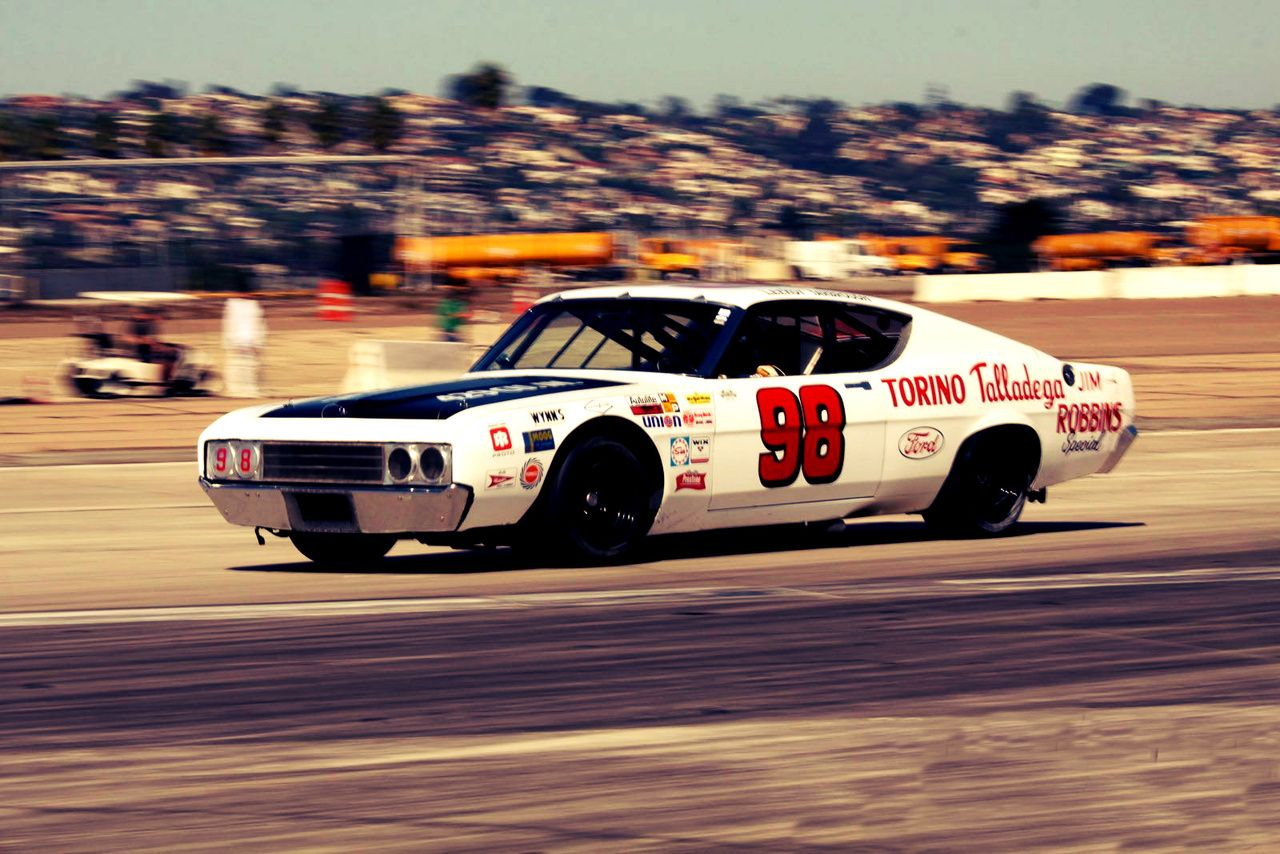 1969 Ford Torino Talladega Nascar Stocker Back When I Liked It When It Was Real Ford Torino Ford Racing Nascar Cars