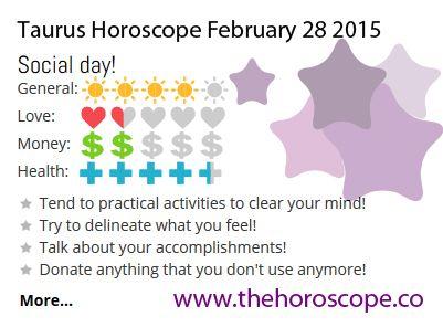 More Horoscopes for Taurus