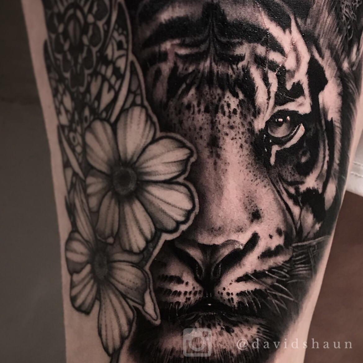 A large piece of stated on my clients leg thank you all for the