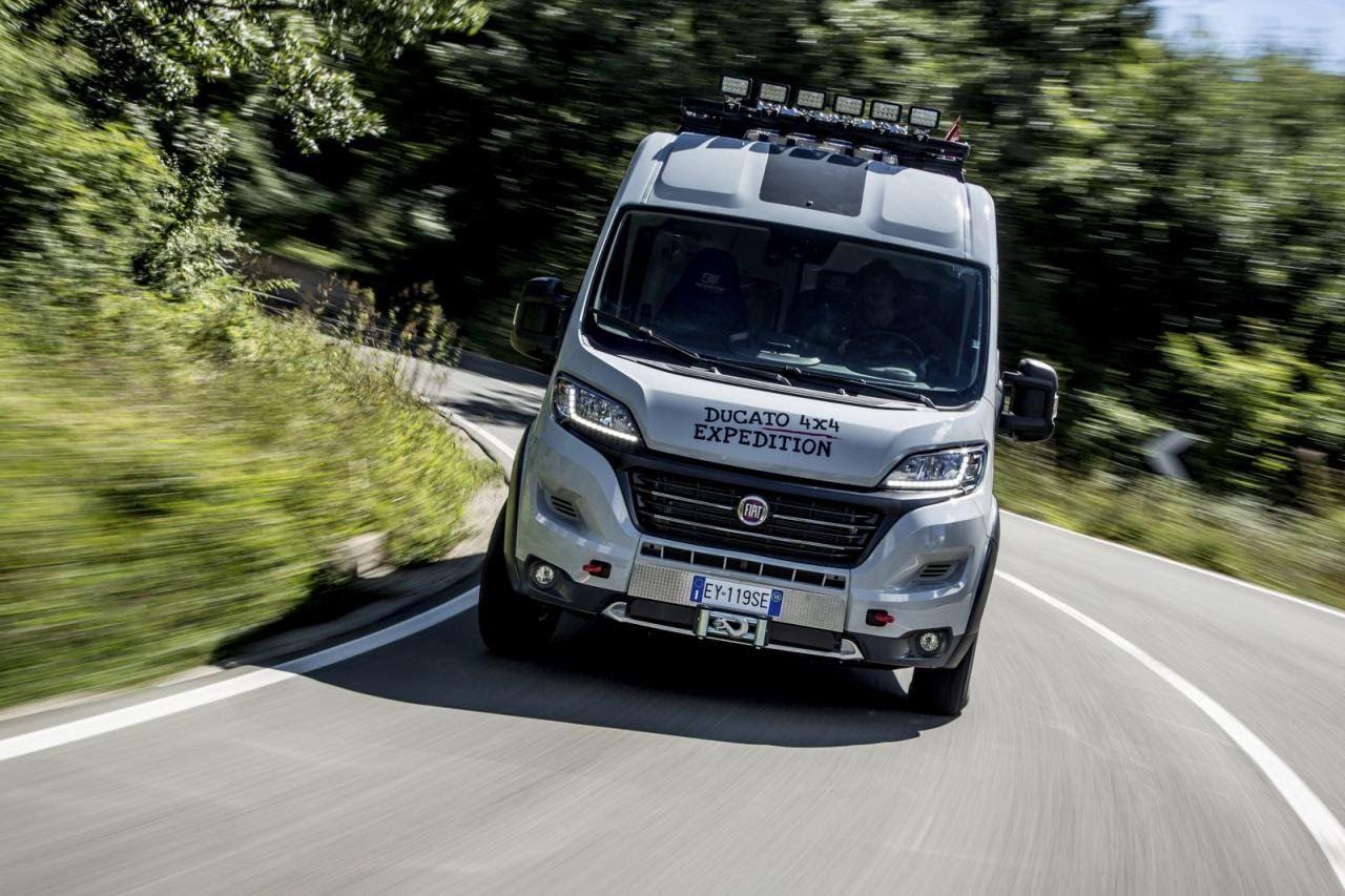 Fiat Ducato 4x4 Expedition At 2015 Dusseldorf Caravan Salon With