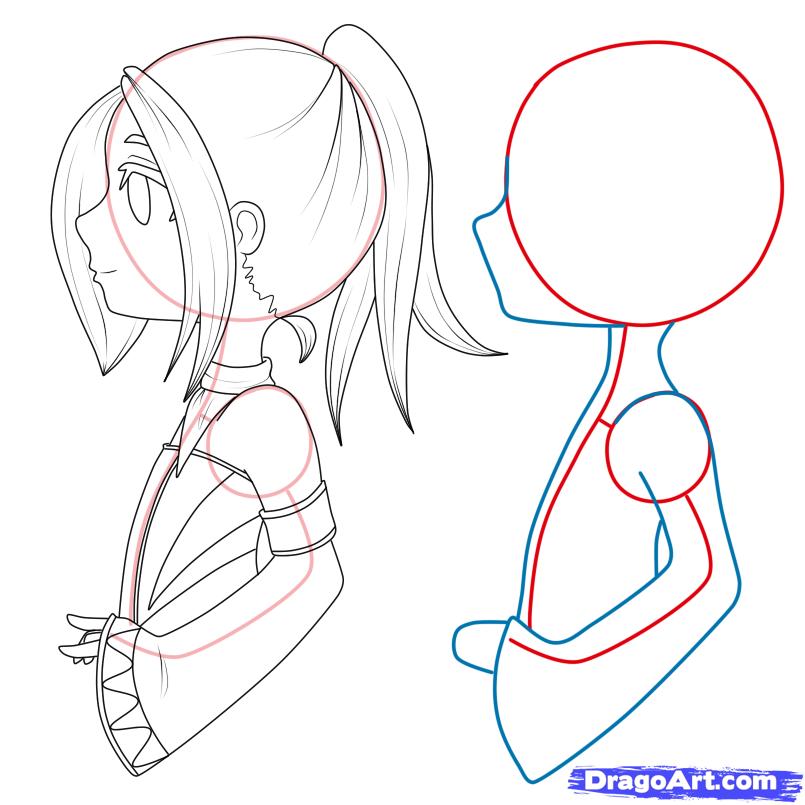 How To Draw Chibi Manga Step By Chibis Anime