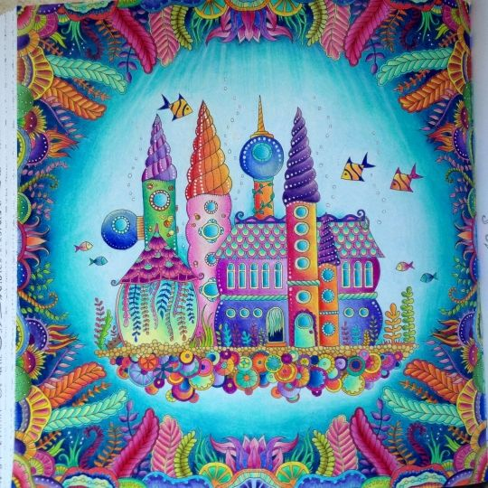By Alexandra Metayer - Johanna Basford   Colouring Gallery
