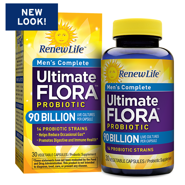 Ultimate Flora Men's Complete Probiotic 90 Billion