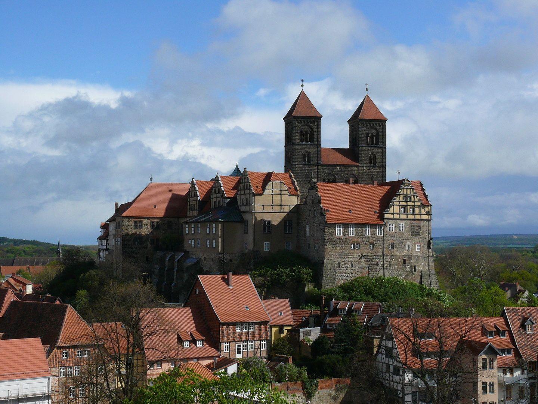 Quedlinburg Burg, Burgen und schlösser, Reisen deutschland
