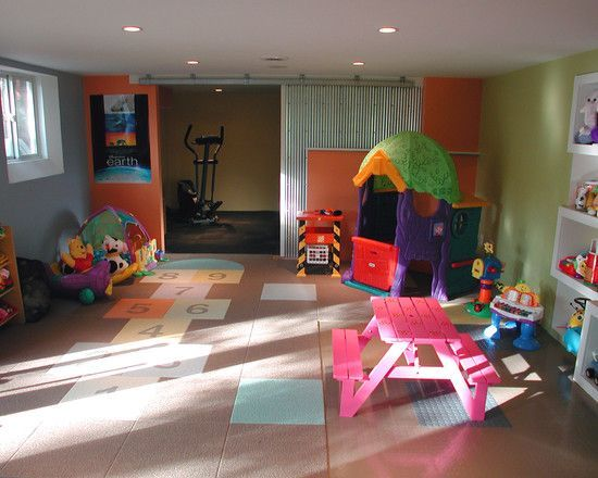 diy+basement+daycare+ideas | Basement Playroom Design, Pictures, Remodel, Decor and Ideas