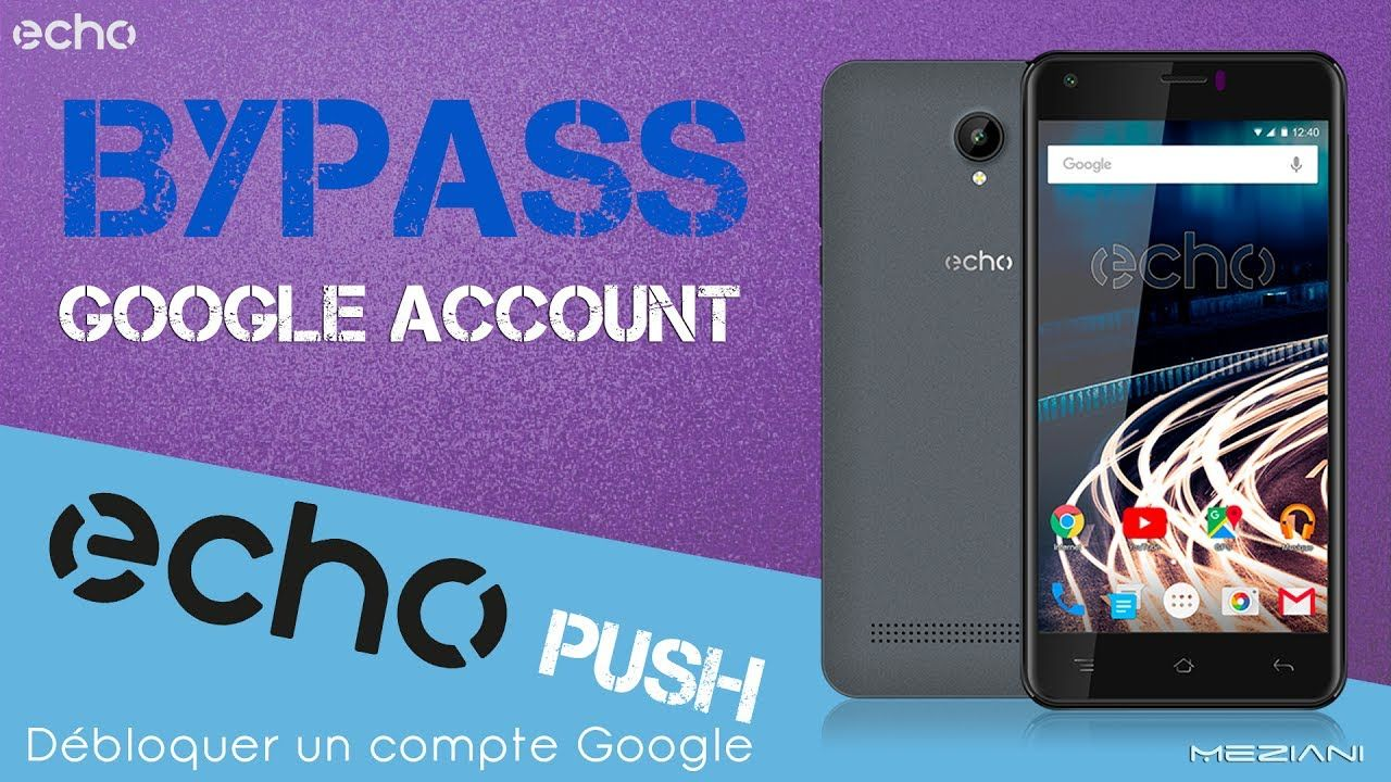 Bypass Google Account echo PUSH Remove FRP | bypass google