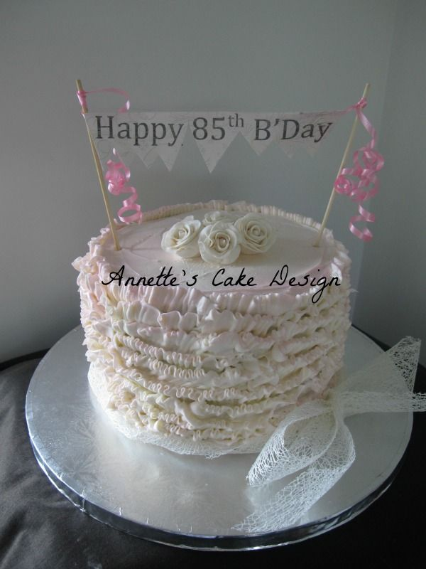 My Grandmas 85th Birthday Cake Ideas Pies