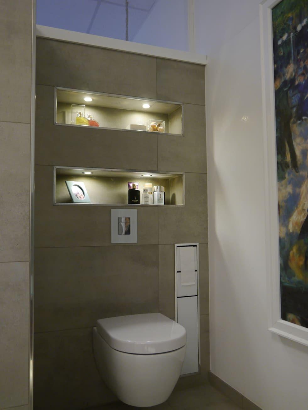 Ein kleines Badezimmer einrichten: 9 wunderbare Ideen! | Moderne ...