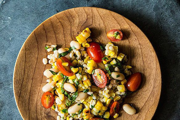 Corn and tomatoes are two of summer's most delicious seasonal offerings, so take full advantage! Recipe here.