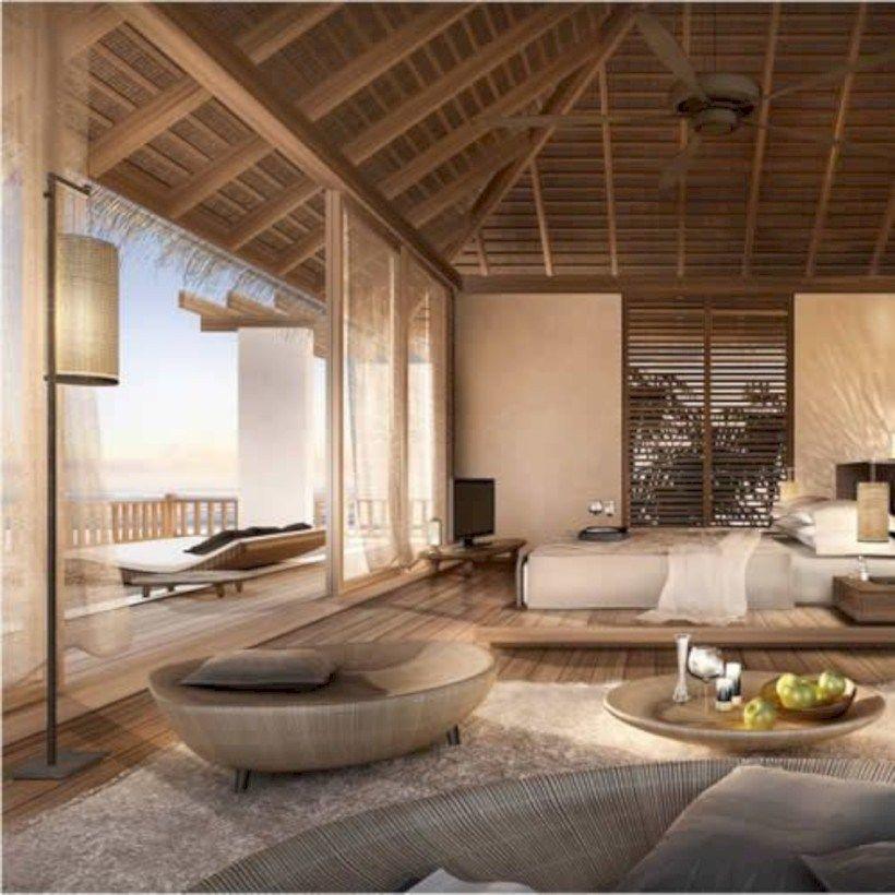 Tropical Beach House Interior: 41 Cozy Tropical Beach Villa Design Ideas