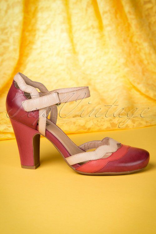 Miz Mooz Janie Pumps Red 400 20 13910 02182015 09W