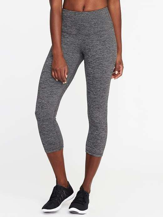 bc31ff4d31 High-Rise Stripe-Melange Crops for Women. Under $30 #shopping #ad #fashion  #deals