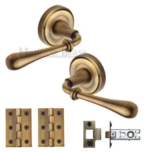 Door Handle Kit Heritage Brass Door Handles Brass Door Handles Brass Door