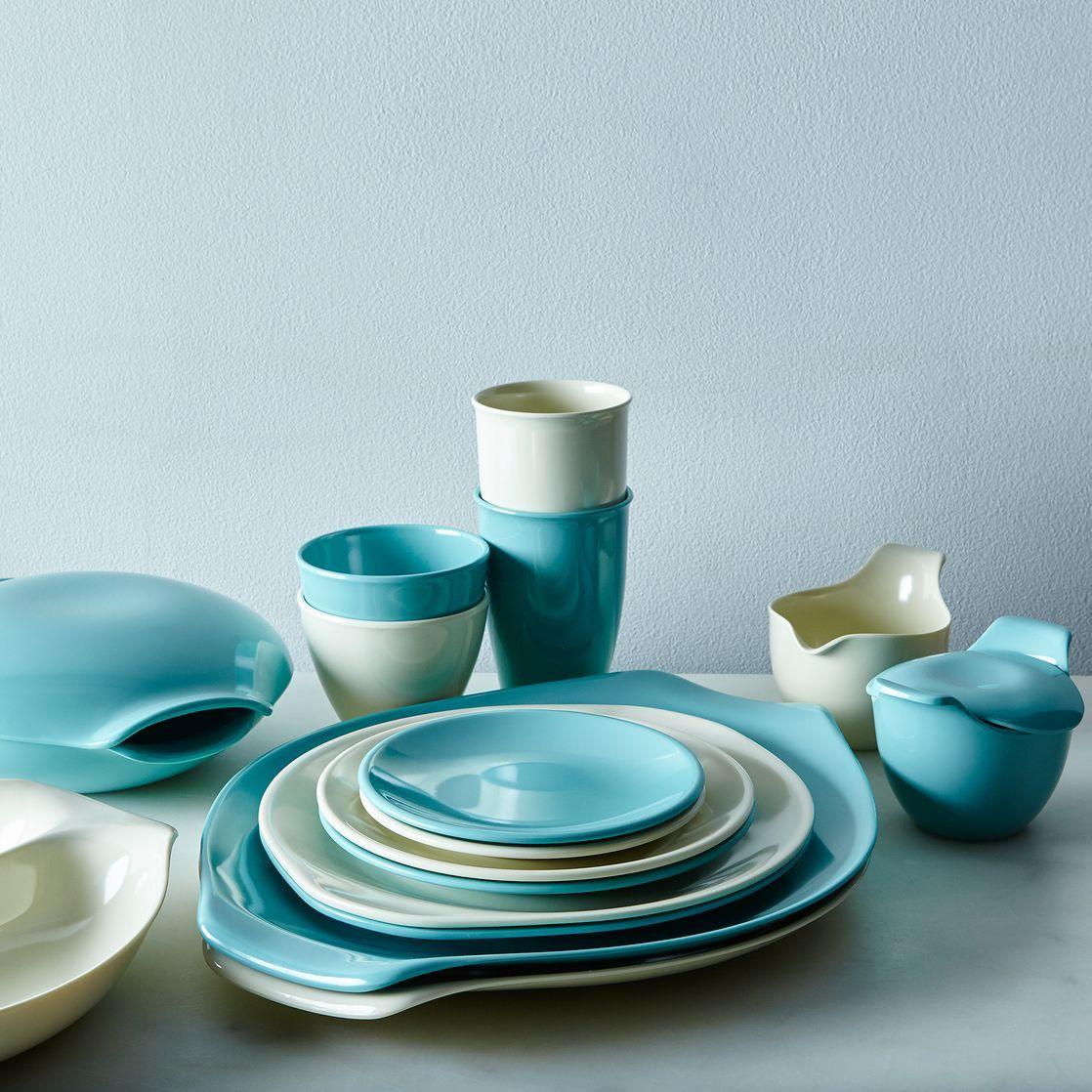 Russel Wright Melamine Dinnerware u0026 Serveware & Russel Wright Melamine Dinnerware u0026 Serveware | Shops Dinnerware ...