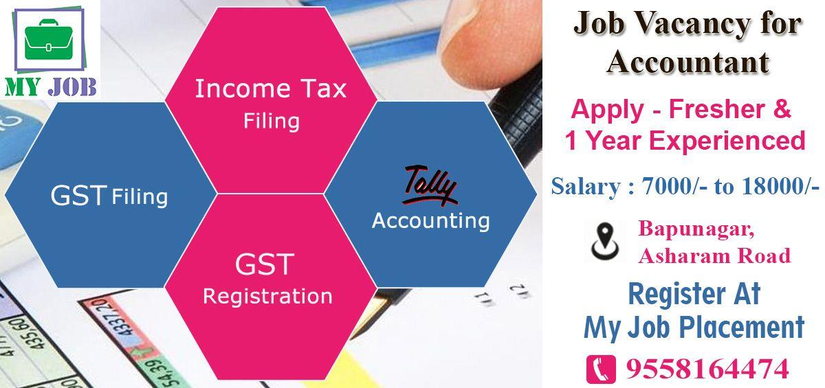 Pin on Accountancy Job Opening in ahmedabad