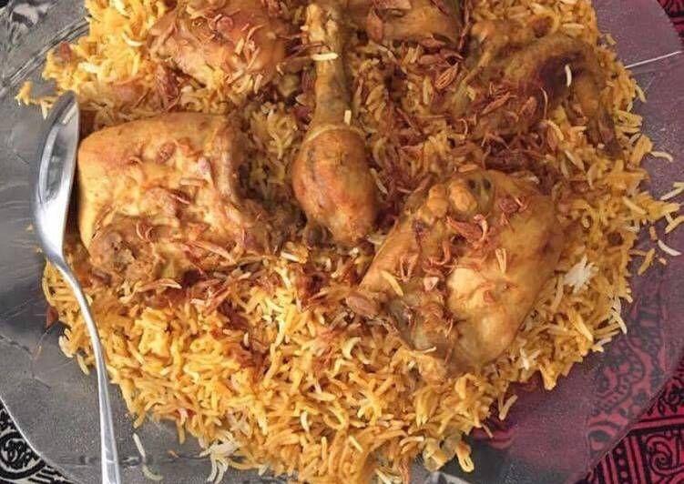 Resep Nasi Briyani Ayam Oleh Nahid Fadaq Resep Resep Makanan India Makanan Dan Minuman Resep Makanan