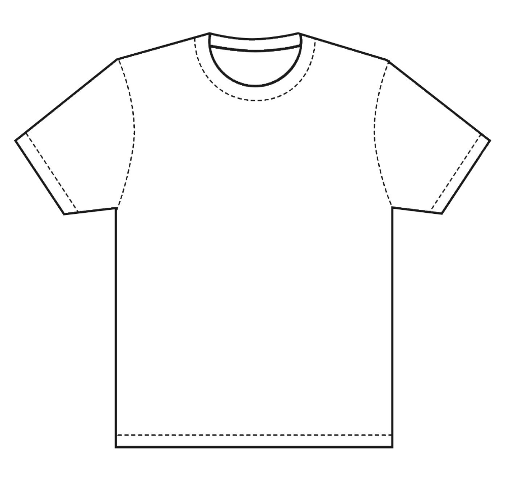 Download T Shirt Template Design T Shirt Template This Is Great For If You For Blank T Shirt Outline Template 11 Shirt Sketch Shirt Drawing T Shirt Design Template