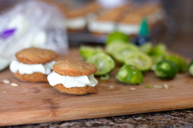 Graham and Key Lime Whoopie Pies 7