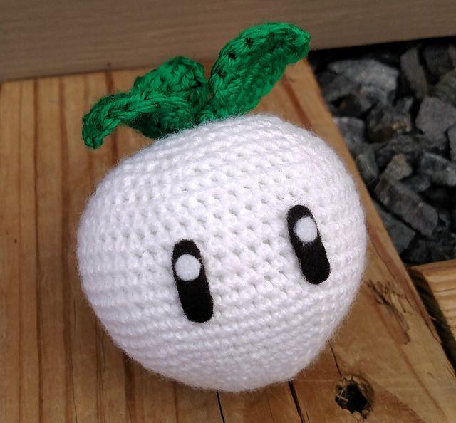 FREE // Ravelry: Mario Princess Peach Turnip pattern by Chelsea ...