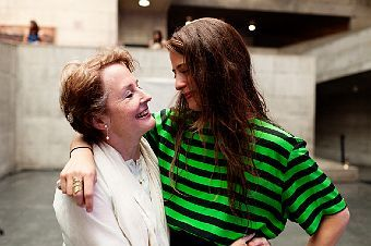 The Spectacular Alice Waters And Her Daughter Fanny Singer People
