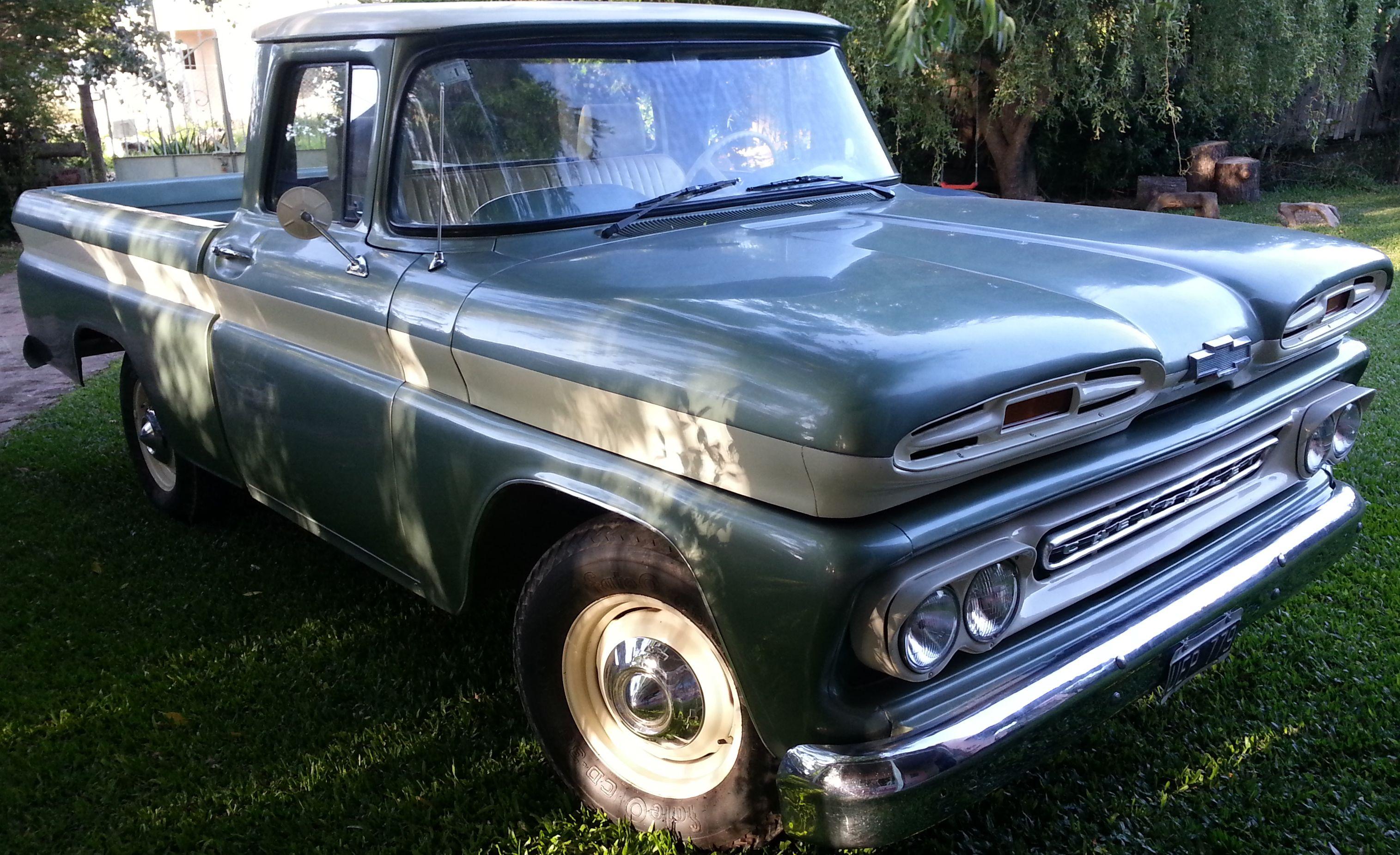 Chevrolet #Apache 1960. http://www.arcar.org/chevrolet-apache-84829