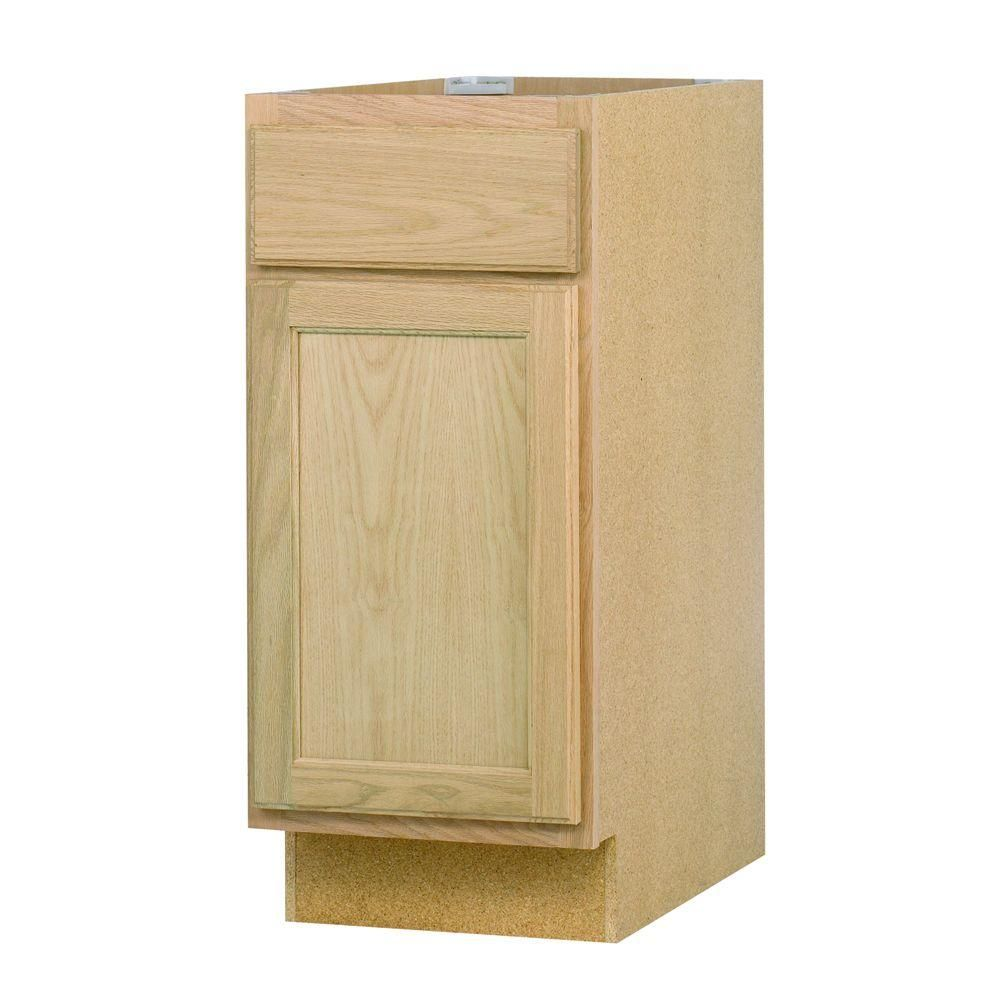 Best 15X34 5X24 In Base Cabinet In Unfinished Oak B15Ohd At 400 x 300