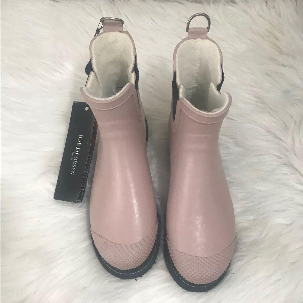 Ilse Jacobsen Shoes | Ilse Jacobsen Black Rub 47 Rubber Rain