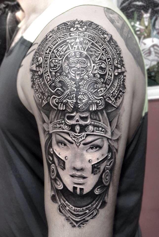 resultado de imagen de mayan tattoo an pinterest tattoo mayan tattoos and tattos. Black Bedroom Furniture Sets. Home Design Ideas