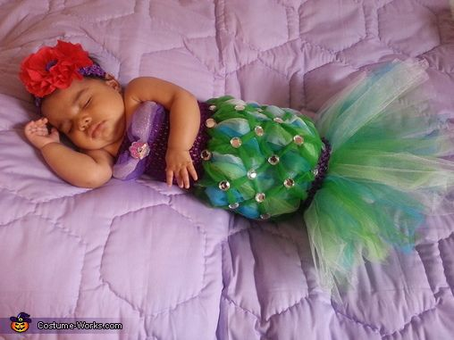 the littlest mermaid costume baby mermaid costumesbaby costumeshalloween - Baby Mermaid Halloween Costume