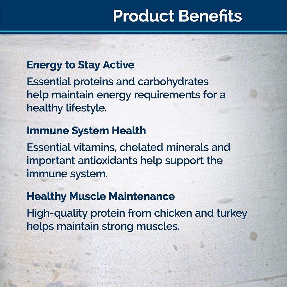 Blue wilderness high protein grain free senior wet dog