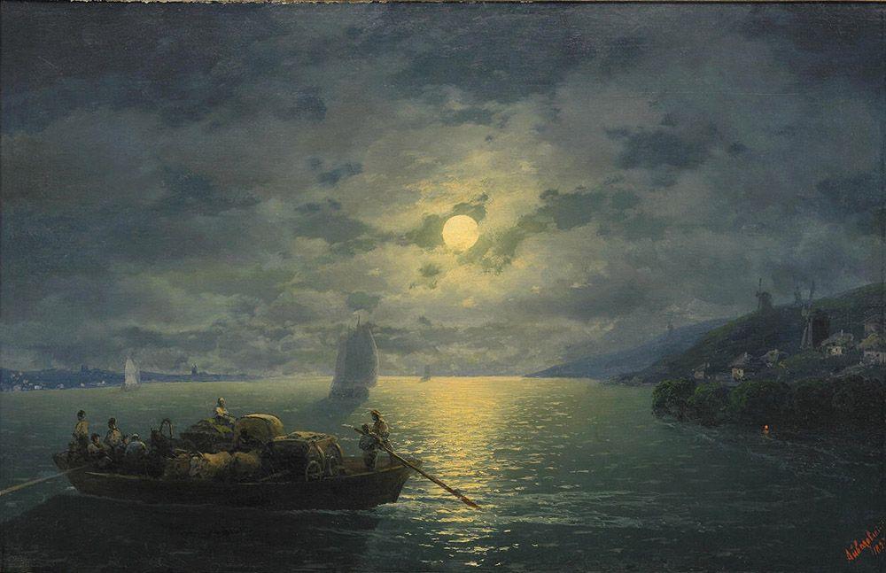 относится той картина айвазовского море в лунном свете картинки начать описание сорта