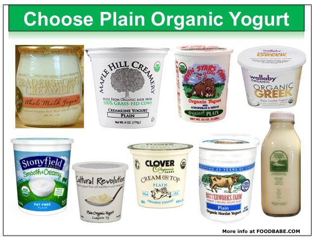 You Won T Believe What S In Your Yogurt And It S Not On The Label Recipe Food Babe Organic Yogurt Organic Yogurt Brands