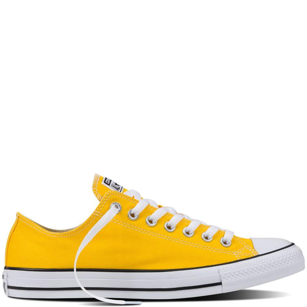 Chuck Taylor All Star Fresh Colors: Lemon Chrome - $50