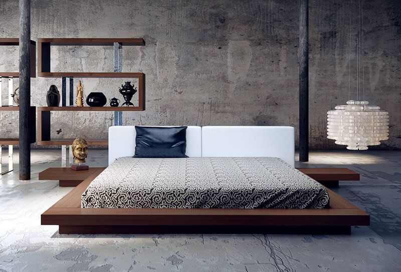 Letto Futon Matrimoniale : Letto futon matrimoniale in stile giapponese ideas for the house