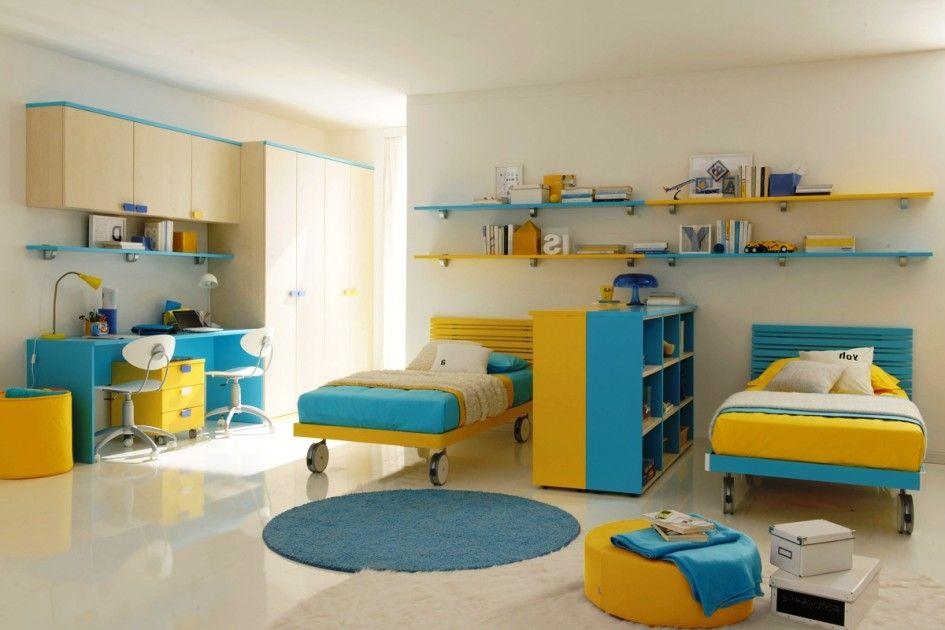 16 funktionale gemeinsame Kinderzimmer Ideen für zwei