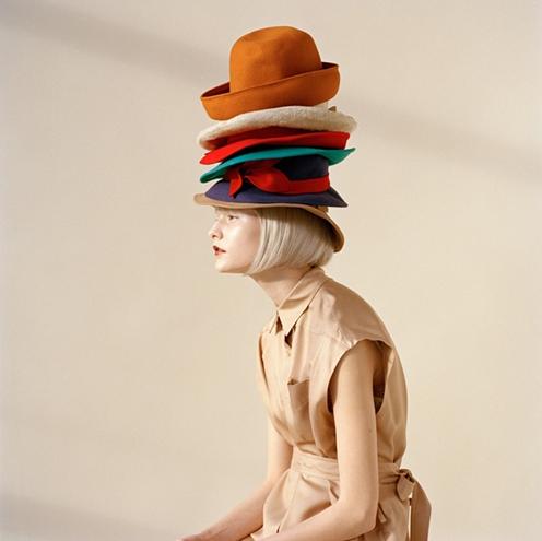 coloured hats