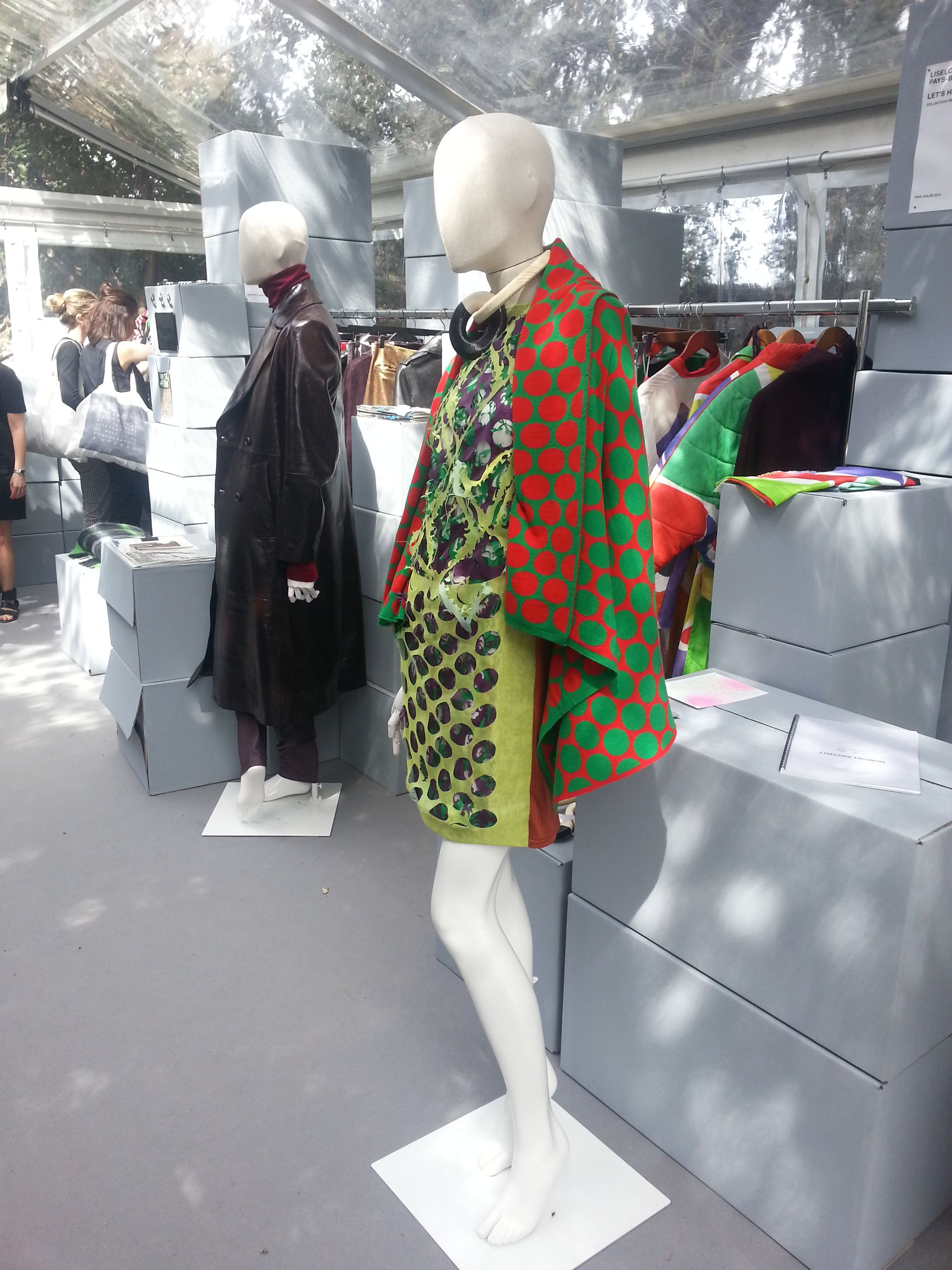 31st International Festival of Fashion & Photography in Hyères | As an official partner of the festival, Hans Boodt supported the festival competition; supplying mannequins for the pop-up showrooms of this years designers and designers from former editions.