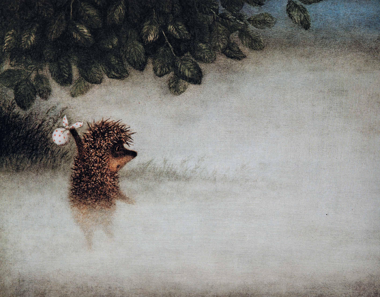 Открытки с медвежонком и ежиком, открытку отправка