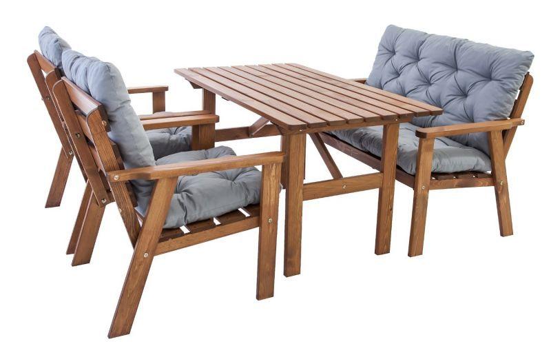 Tisza terasz garnitúra asztal 120x75 Outdoor furniture