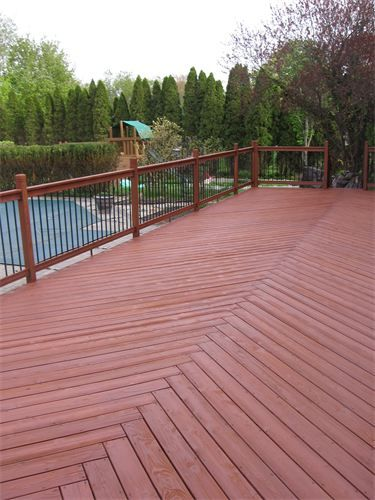 Sherwin williams woodscapes exterior stain in cider mill decks pinterest exterior stain for Sherwin williams exterior stain
