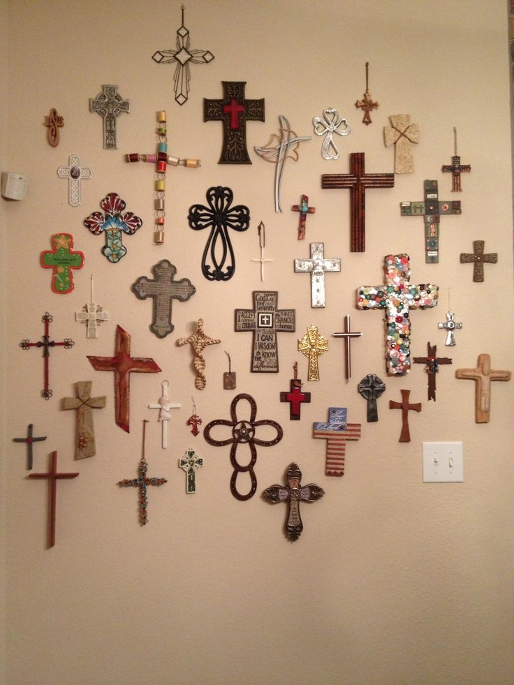 Crosses on Pinterest | Cross Walls, Wall Crosses and Cross Wall ...