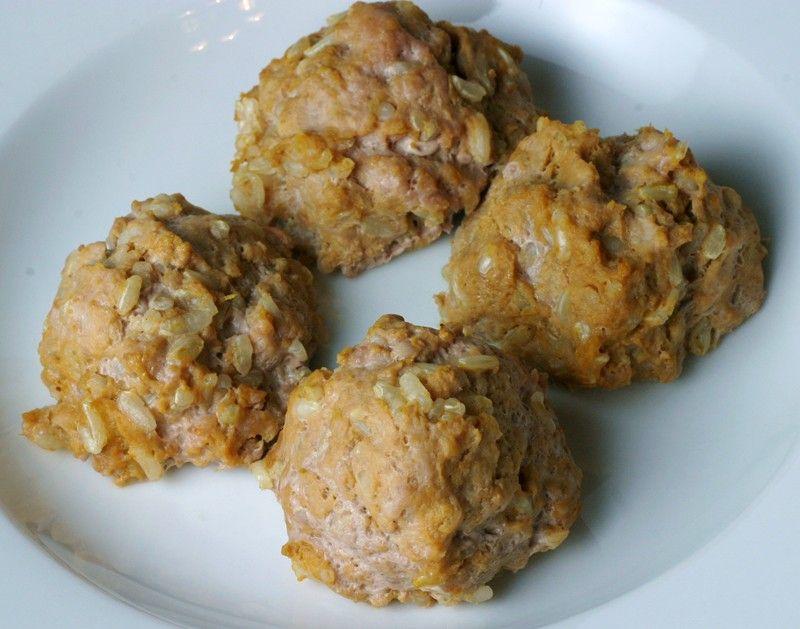 Dog foodie sweet turkey meatballs dog food recipes