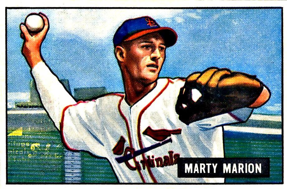 34 Marty Marion MG St. Louis Cardinals Baseball